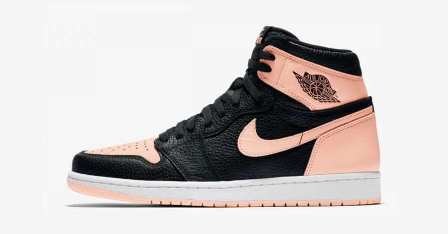 sale retailer 29647 dc5a2 Nike Air Jordan 1 Sort Pink