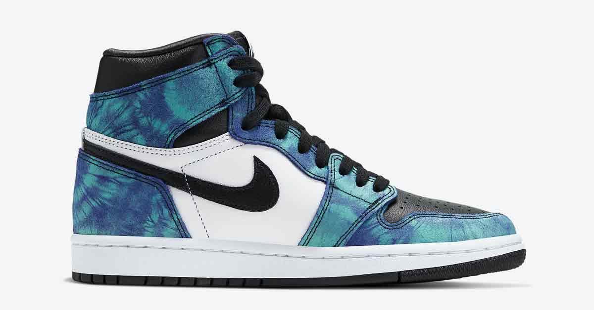 Nike Air Jordan 1 Tie-Dye CD0461-100