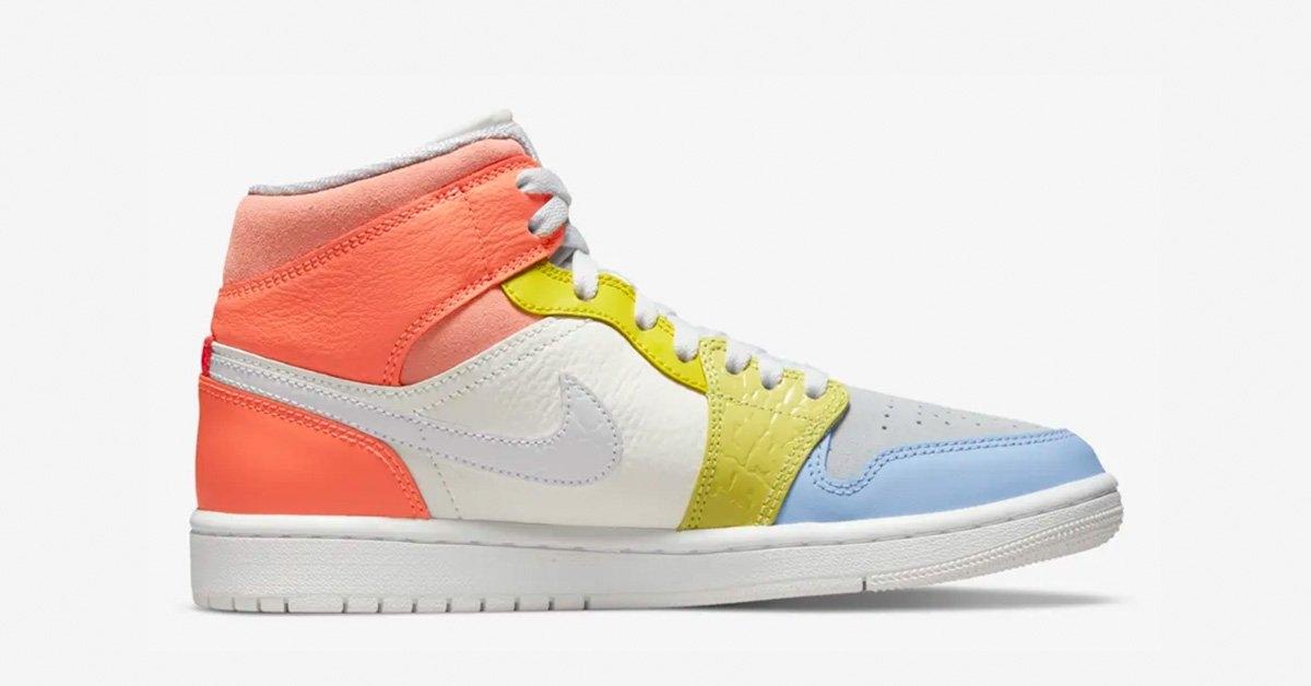 Nike Air Jordan 1 Zoom Mid To My First Coach DJ6910-100