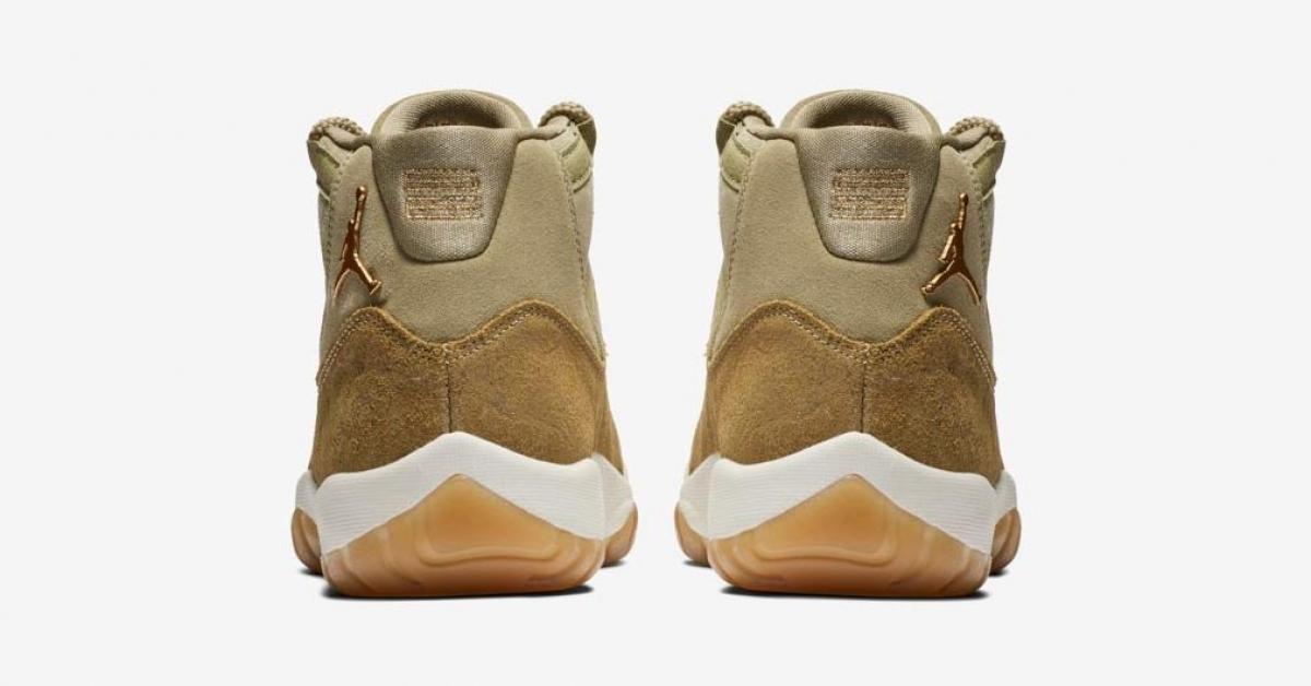 Nike Air Jordan 11 til kvinder Neutral Olive AR0715-200