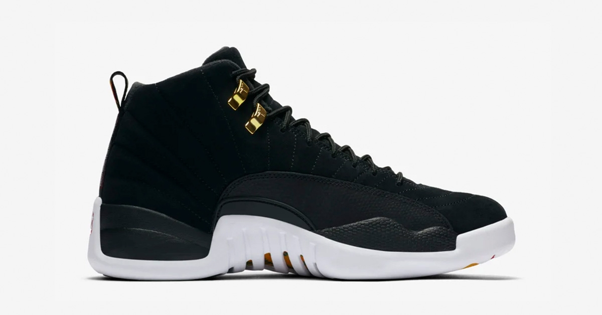 Nike Air Jordan 12 Sort Hvid Cool Sneakers