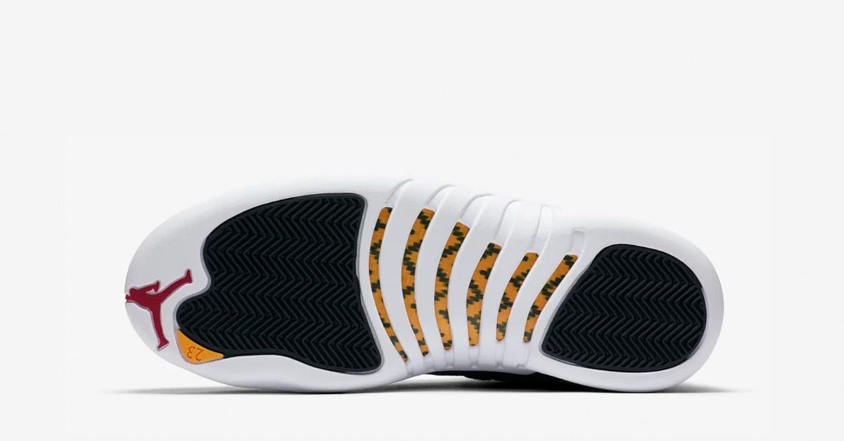 Nike Air Jordan 12 Sort Hvid