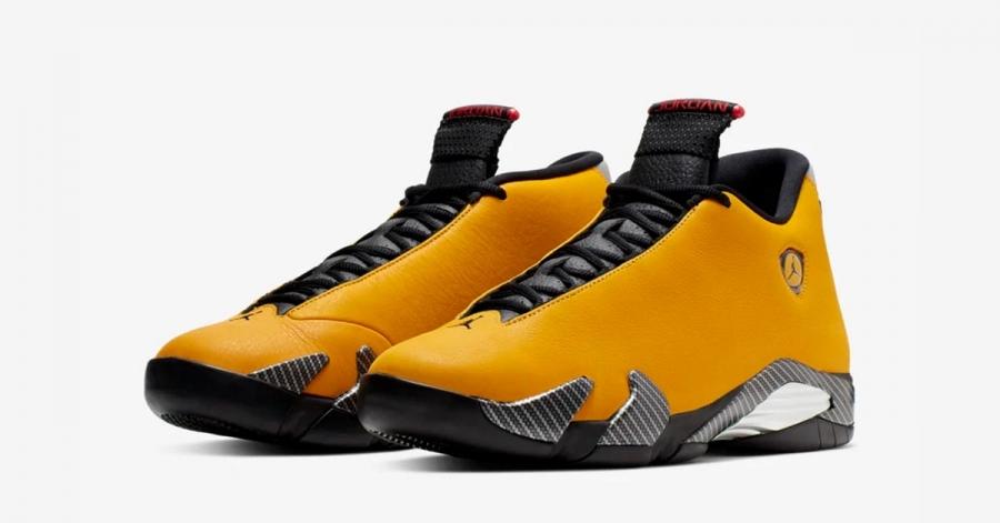 Nike Air Jordan 14 Hvid Rød Cool Sneakers
