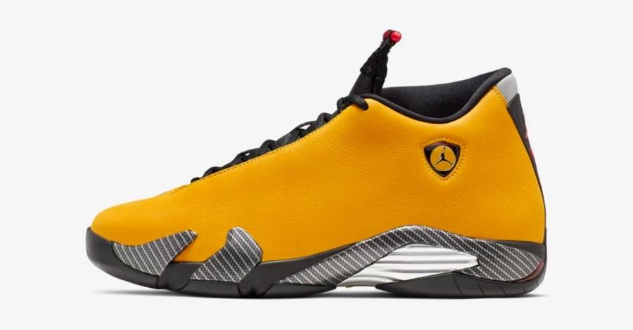 Nike Air Jordan 14 Gul BQ3685-706