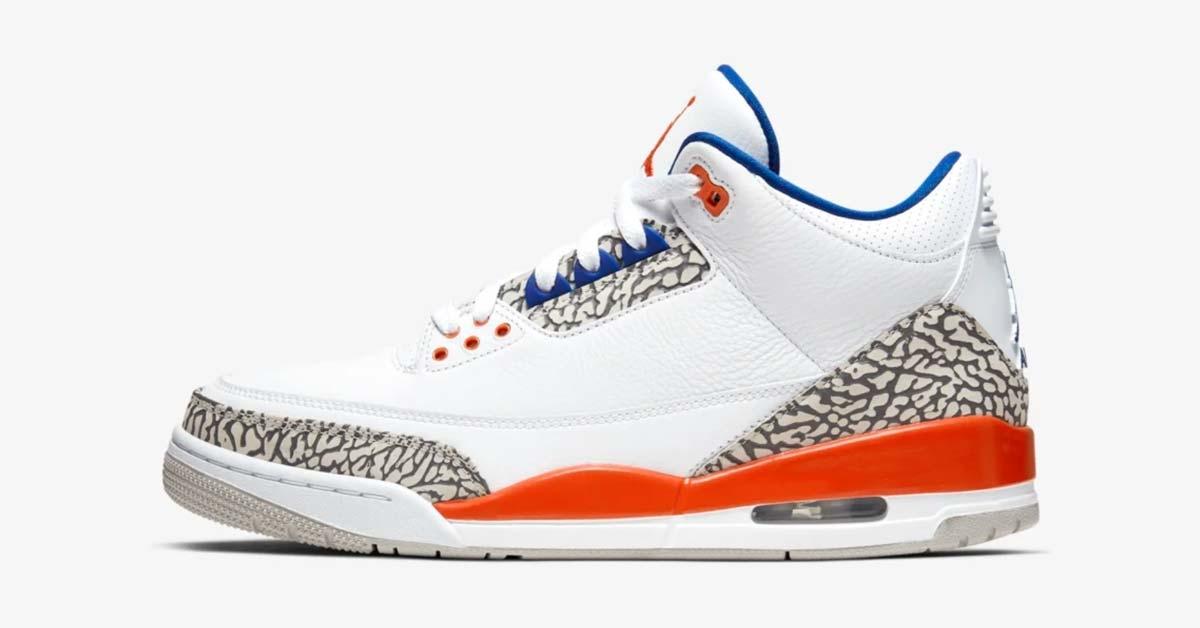 Nike Air Jordan 3 Hvid Orange 136064-148