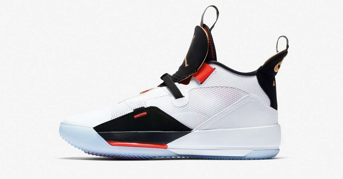 Nike Air Jordan 33 Sail Phantom Black BV5072-100