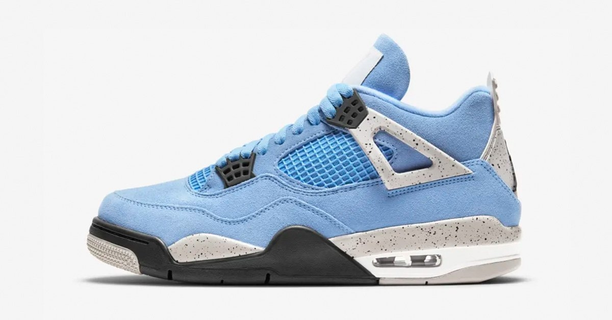Nike Air Jordan 4 Lyseblå CT8527-400