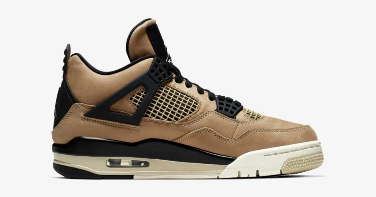 Nike Air Jordan 4 Mushroom til kvinder AQ9129-200