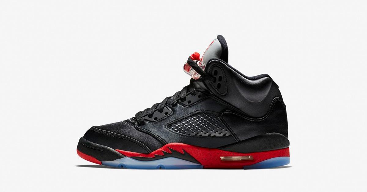 Nike Air Jordan 5 Black til børn
