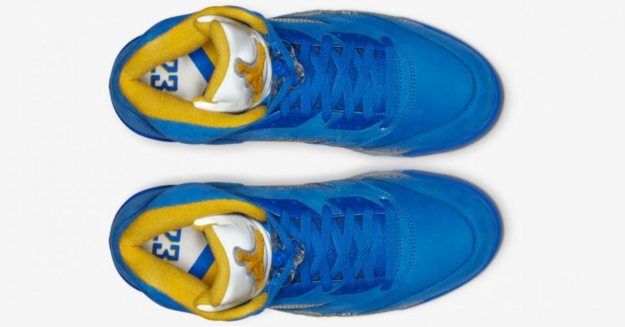 Nike-Air-Jordan-5-Blå-Gul-06