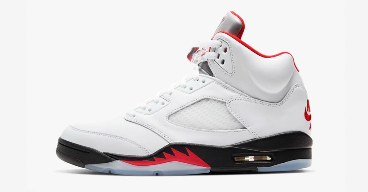 Nike Air Jordan 5 Fire Red