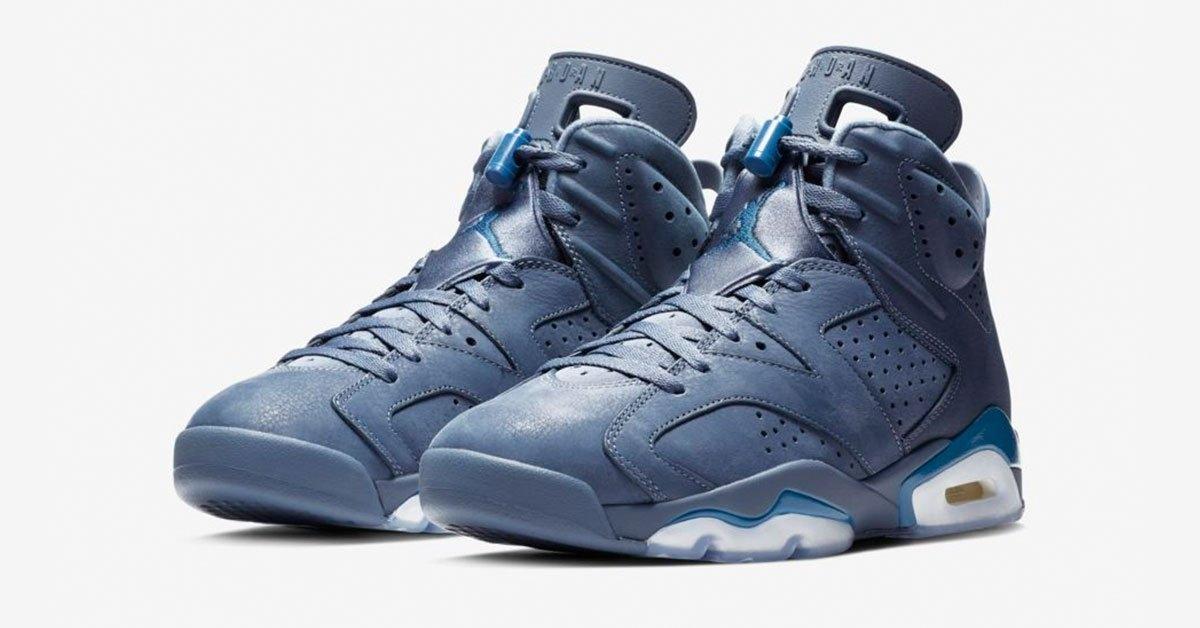 Nike Air Jordan 6 Diffused Blue-Court Blue