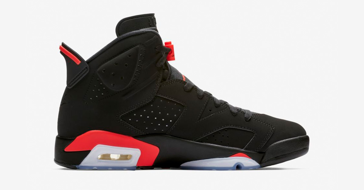 Nike Air Jordan 6 Retro Infrared 385664-060