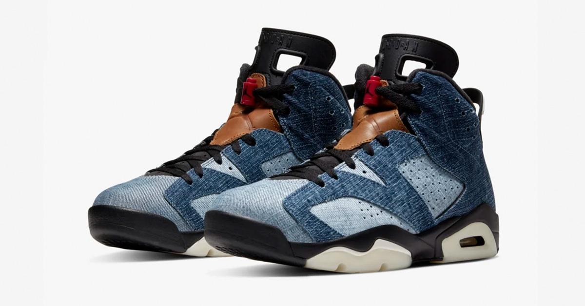 Nike Air Jordan 6 Washed Denim