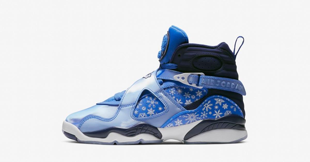 Nike Air Jordan 8 Cobalt Blaze til Børn