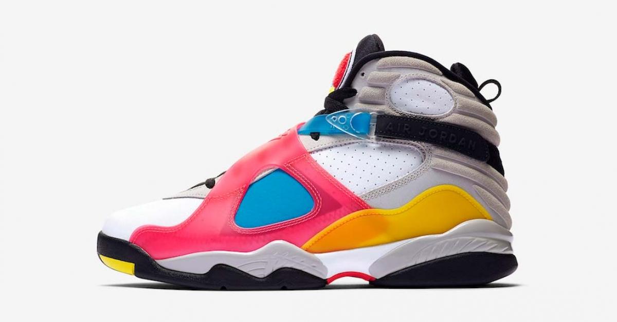 Nike Air Jordan 8 SE Multicolor BQ7666-100
