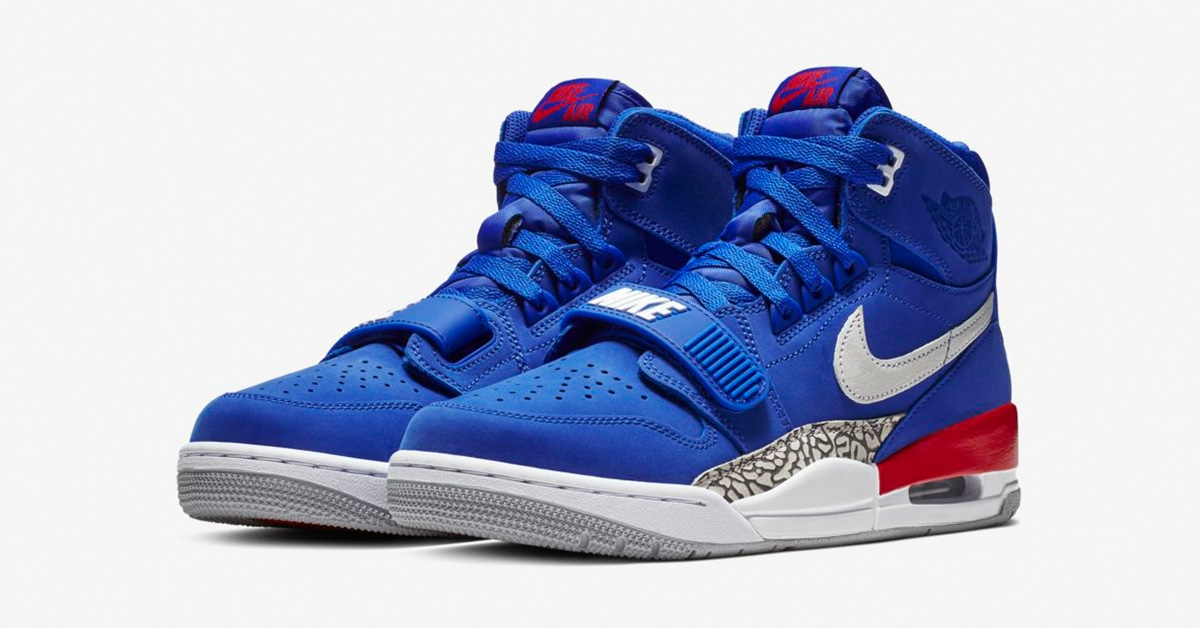 Nike Air Jordan Legacy 312 Bright Blue AV3922-416