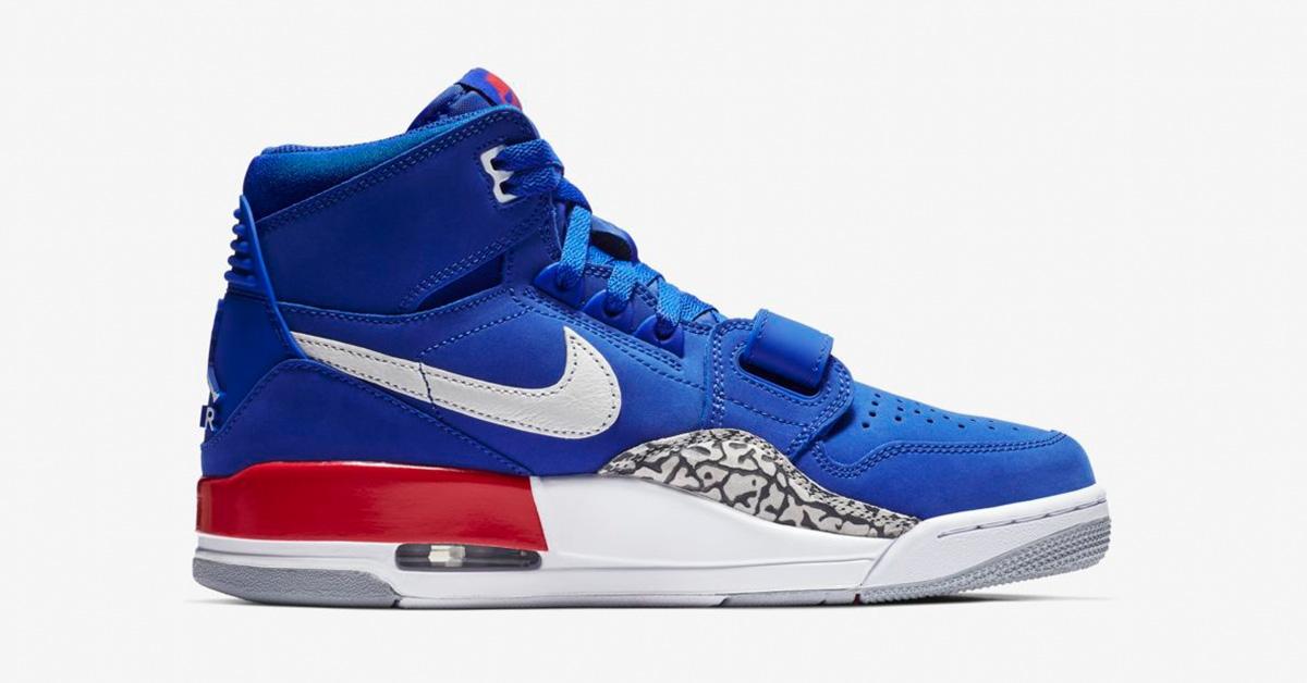 Nike Air Jordan Legacy 312 Bright Blue AV3922-416