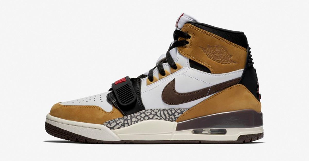 Nike Air Jordan Legacy 312 Wheat