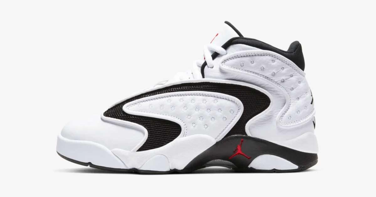Nike Air Jordan OG til Kvinder Hvid Sort 133000-106