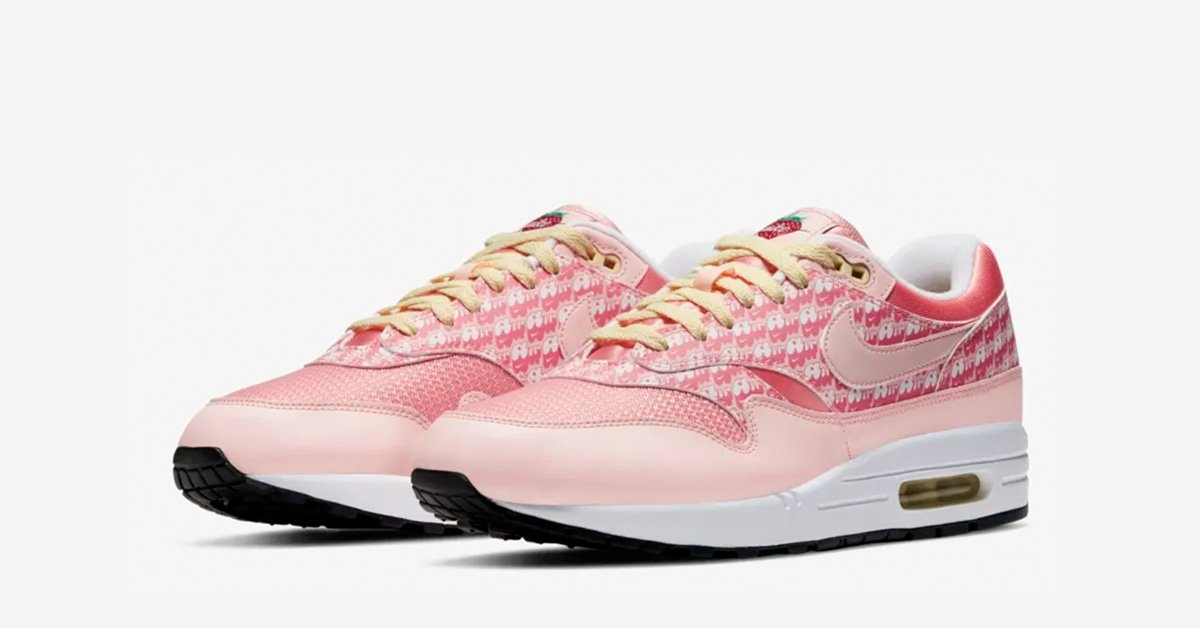 Nike Air Max 1 Strawberry Lemonade CJ0609-600