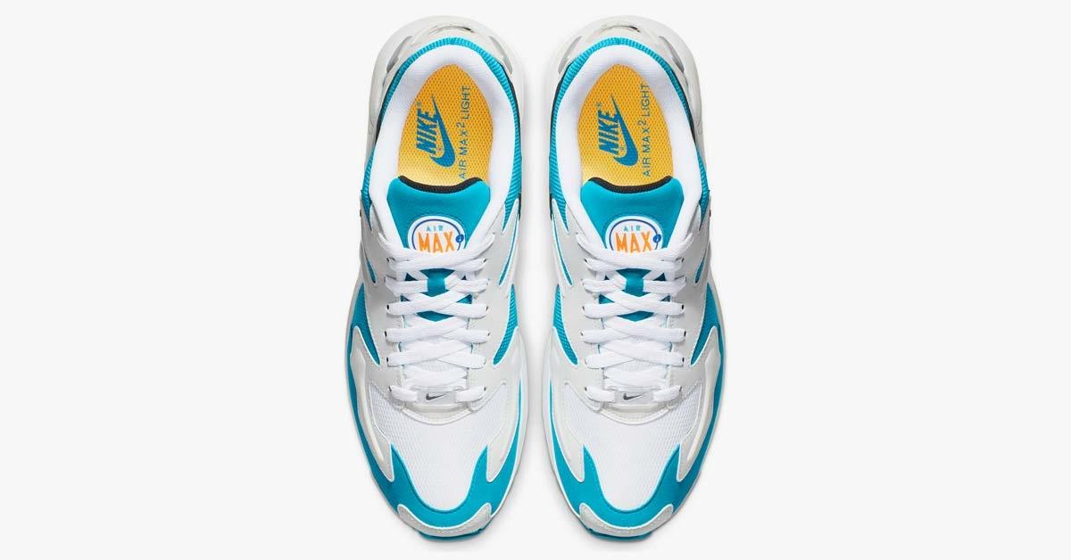 Nike Air Max2 Light OG Blue Lagoon AO1741-100