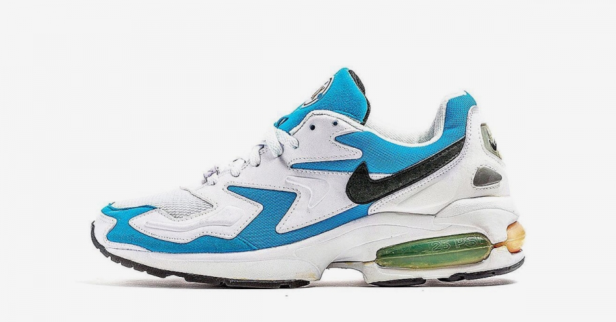 Nike Air Max2 Light OG Blue Lagoon AO1741-100