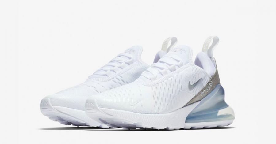Nike Air Max 270 Hvid Sølv til kvinder