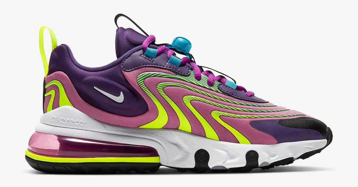Nike Air Max 270 React Engineered Lilla CK2595-500