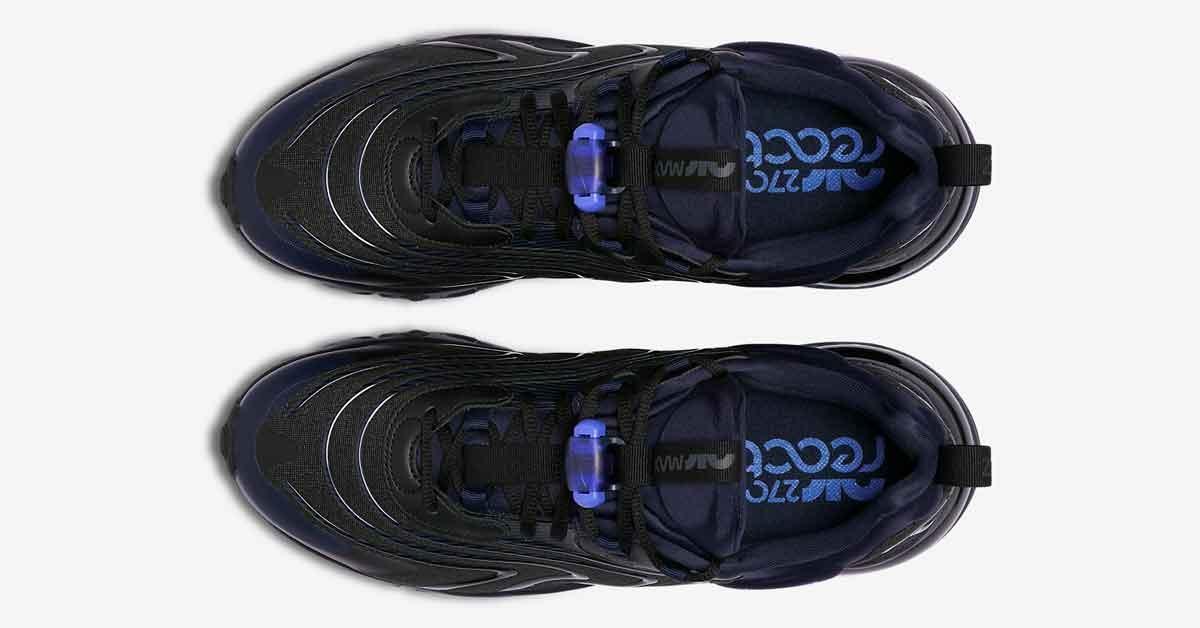 Nike Air Max 270 React Engineered Sort CD0113-001