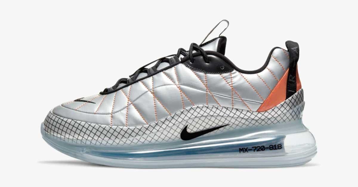 Nike Air Max 720-818 Metallic Silver BV5841-001
