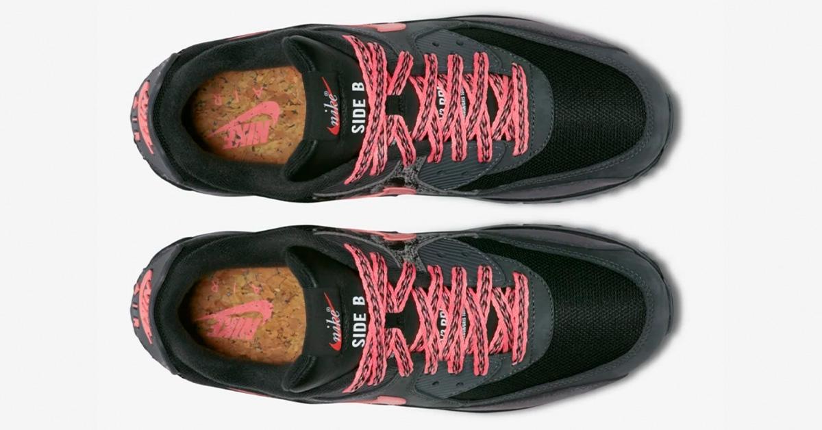 sneakers from Paris: NIKE Air Max 90 Premium Ostrich