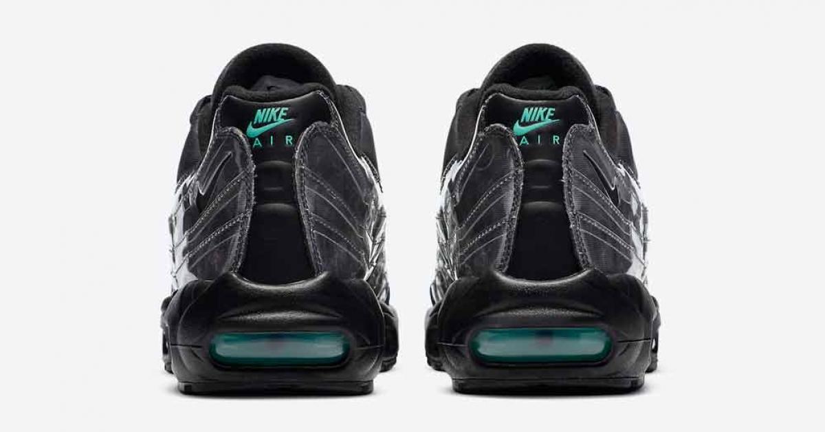 Nike Air Max 95 Black Aurora Green DA7735-001