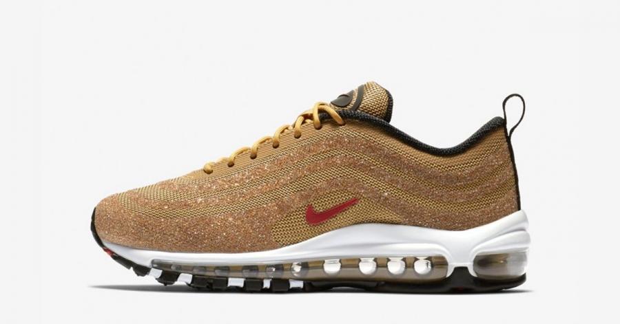 Nike Air Max 97 Guld Swarowski til kvinder 0