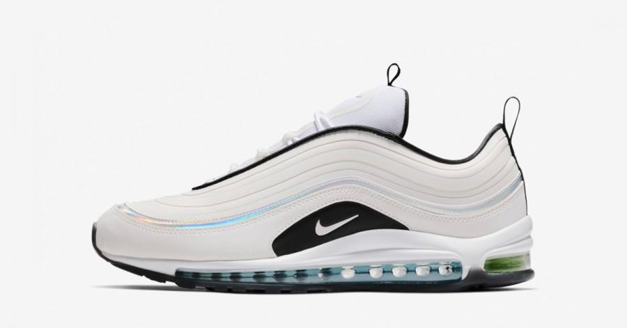 Nike Air Max 97 Ultra Hvid Sort
