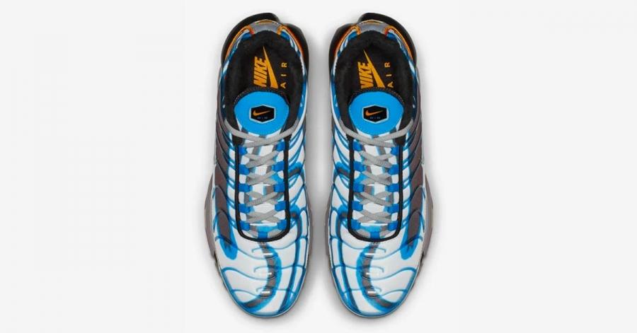 Nike Air Max Plus Deluxe Blå Orange 815995-400