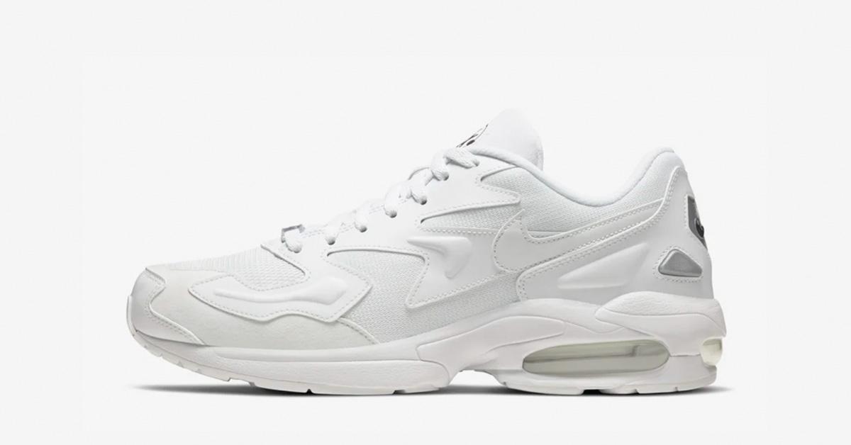 Nike Air Max2 Light Hvid