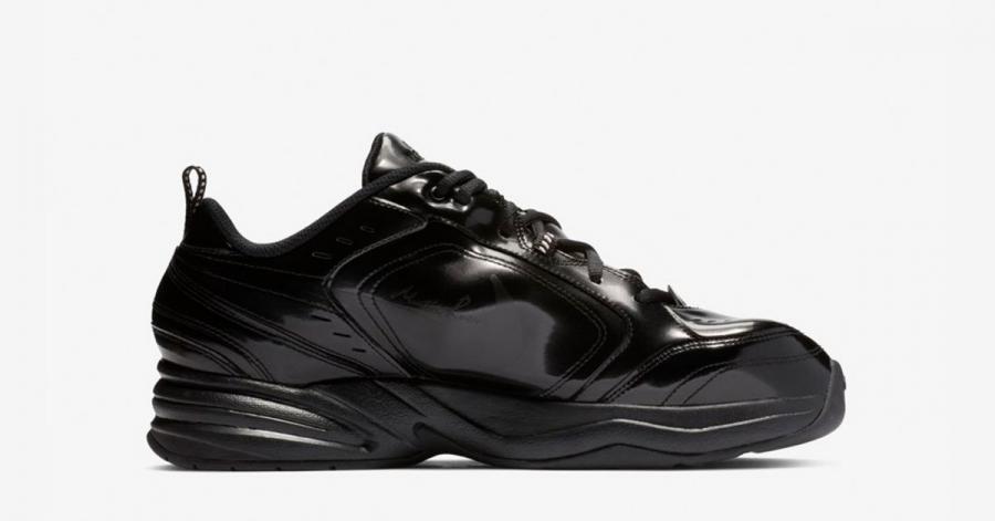 Nike Air Monarch 4 Sort Martine Rose