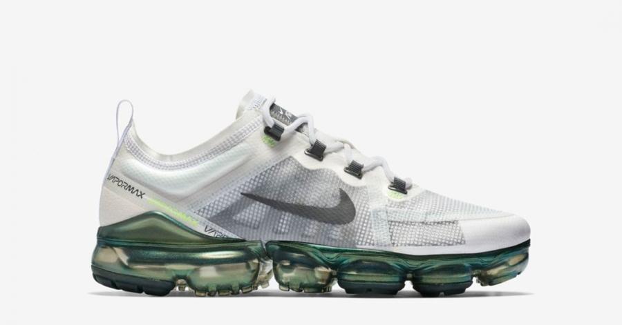 Nike Air Vapormax 2019 Hvid Grøn AT6810-100