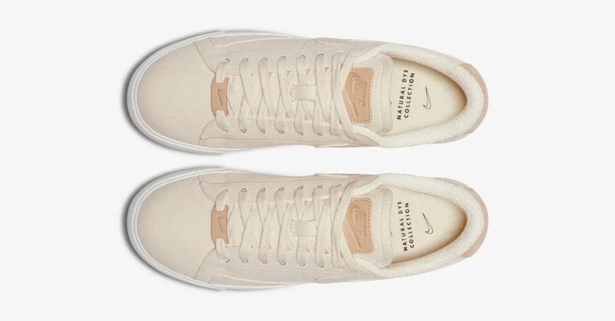 Nike Blazer Low Sail Plant Color til Kvinder AV9371-102