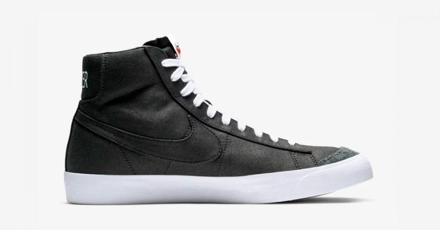 Nike Blazer Mid 77 Sort