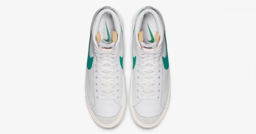 Nike Blazer Mid 77 Vintage Hvid Grøn BQ6806-300