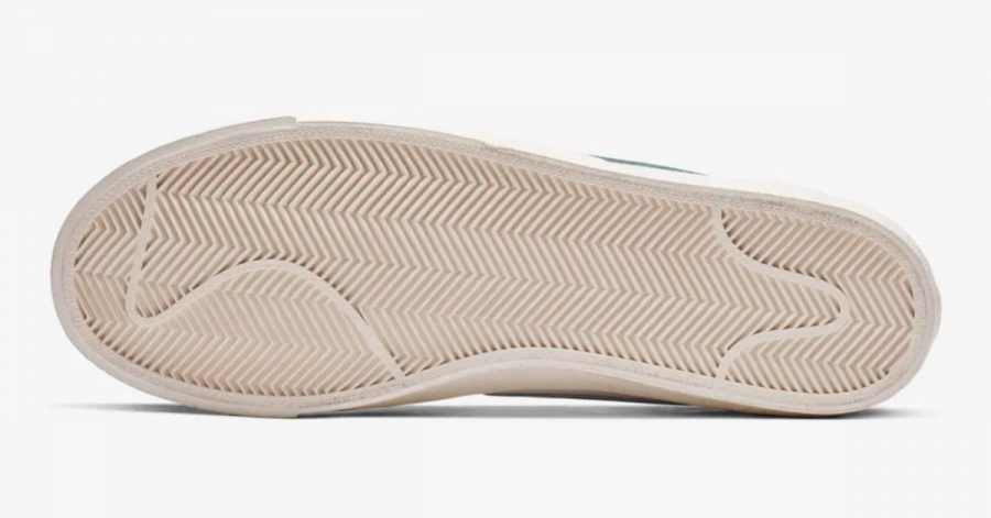 best service 7cc33 6fec6 Nike Blazer Mid 77 Vintage Hvid Grøn BQ6806-300