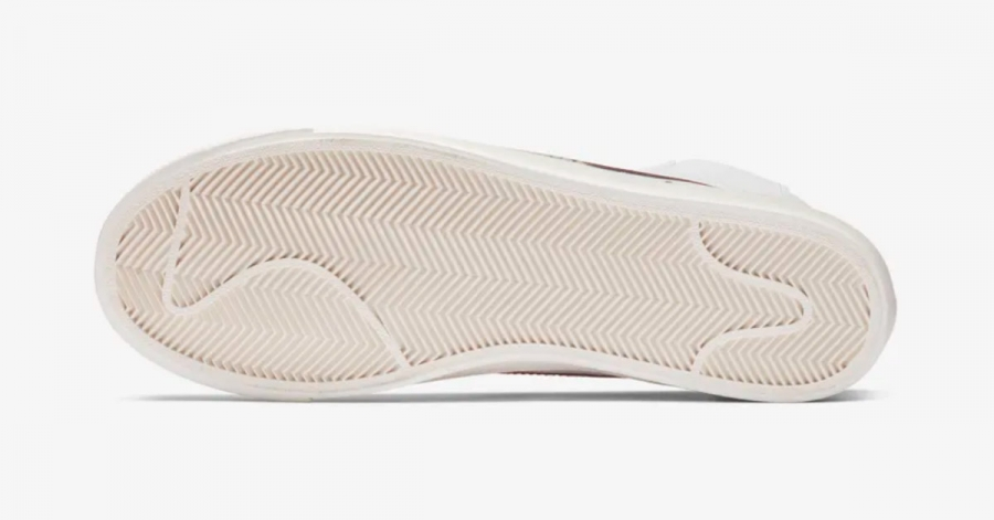 Nike Blazer Mid 77 Vintage Hvid Rød BQ6806-600