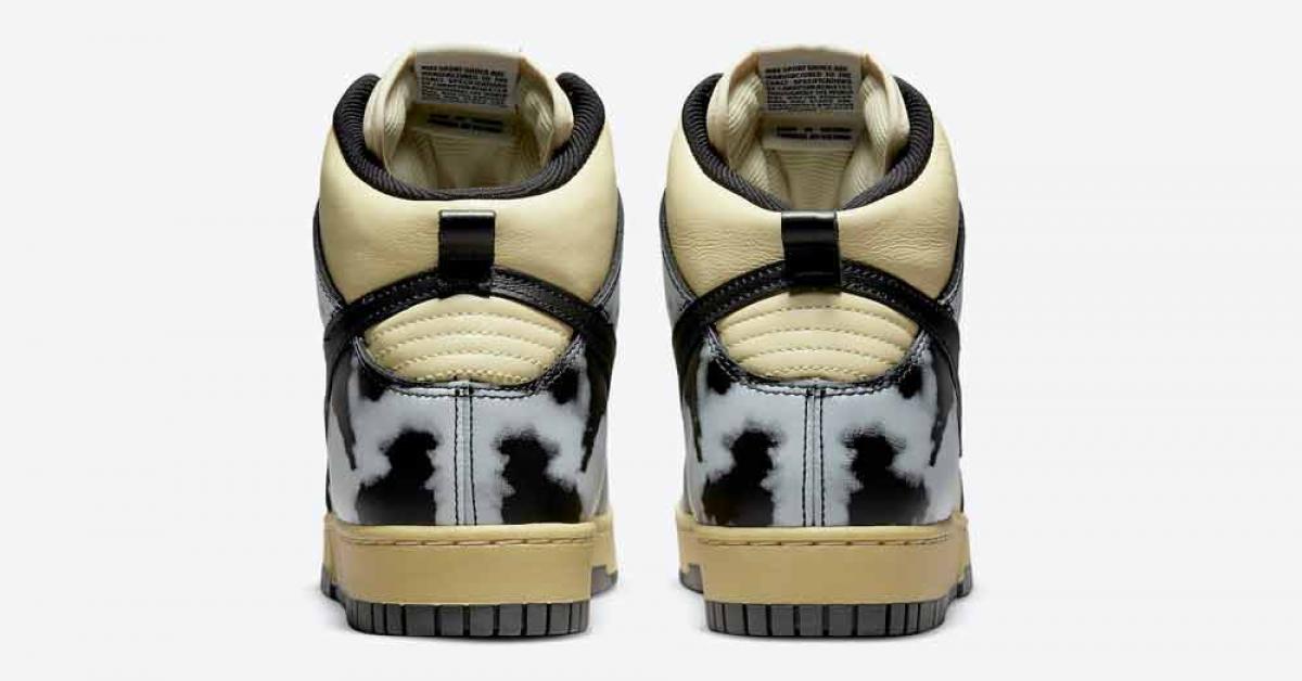 Nike Dunk High 1985 Black Acid Wash DD9404-700