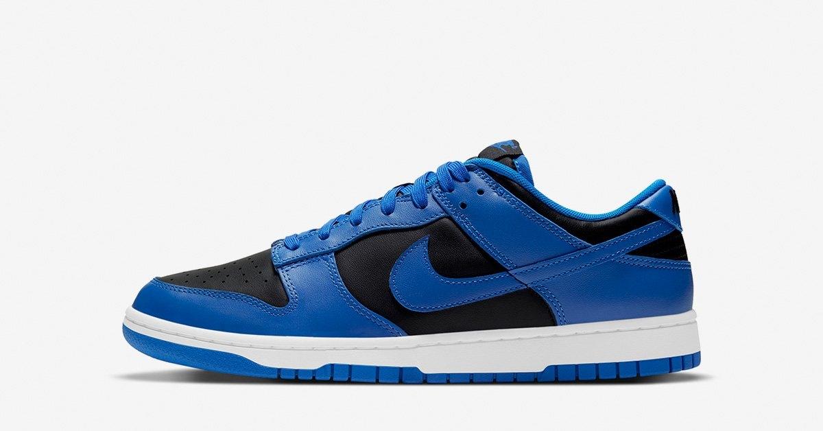Nike Dunk Low Sort Blå