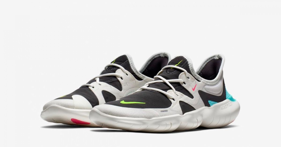 Nike Free Run 5.0 Sort Grå til kvinder AQ1316-100