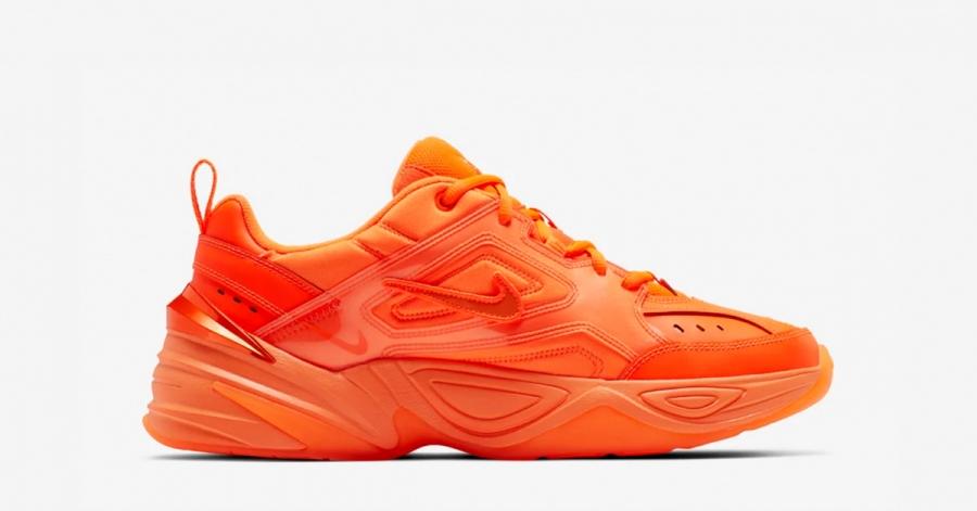 Nike M2K Tekno Orange Burst
