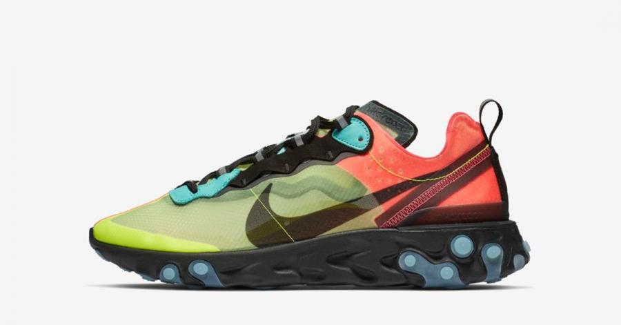 Nike React Element 87 Pink Volt