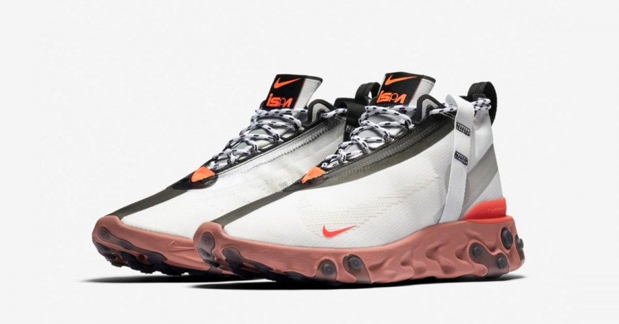 Nike React Runner Mid ISPA Hvid